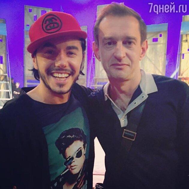 Тимур Родригез и Константин Хабенский