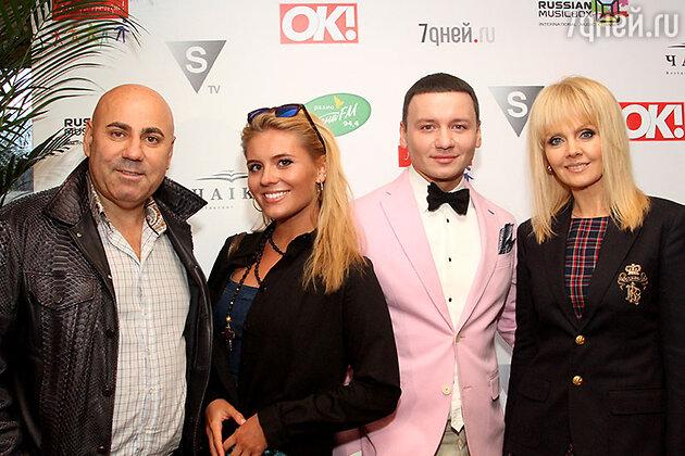 Иосиф Пригожин, Анна Шульгина, Александр Олешко и Валерия