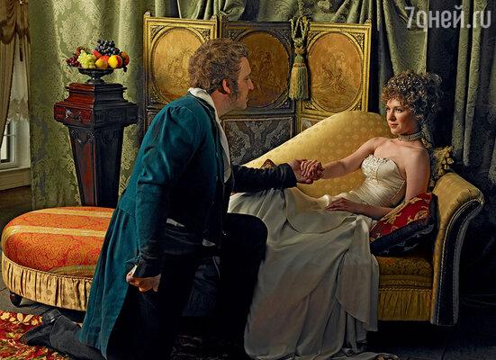 Жозефине даже не приходило вголову,что, проводя время в объятиях Ипполита Шарля, онаразбивает Наполеону сердце. (Событие инсценировано фотохудожником Екатериной Рождественской)