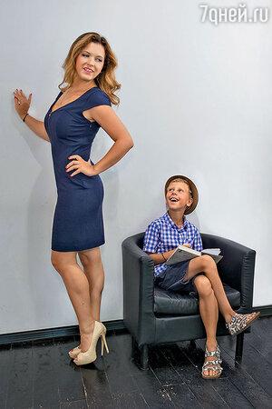 Анастасия Денисова с сыном