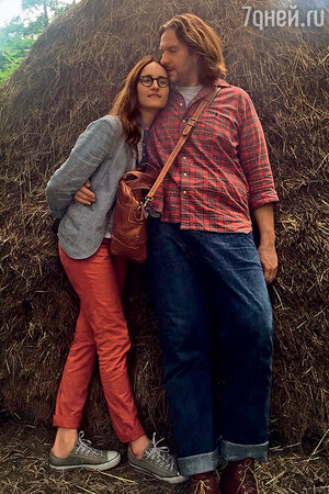 Анастасия Бегунова с мужем