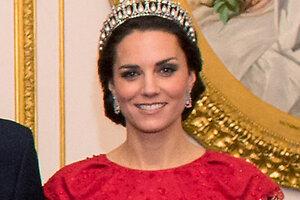Герцогиня Кэтрин снова примерила роковую тиару принцессы Дианы