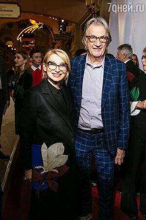 Пол Смит с Эвелиной Хромченко