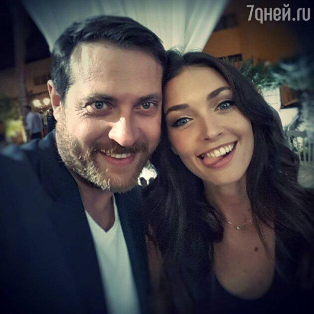 Кирилл Сафонов с дочкой Анастасией