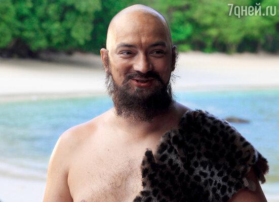 Роман Юнусов вжился в роль аборигена