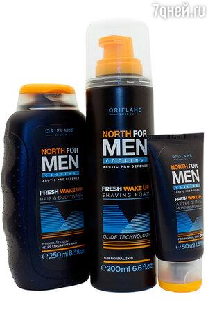 Коллекция «Норд – утренняя свежесть» North for Men от Oriflame