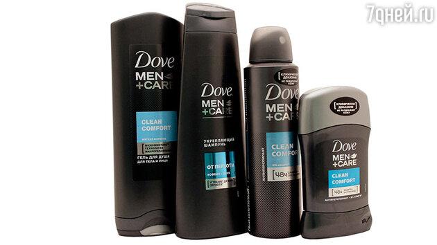 Линия Men + Care от Dove