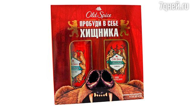 Подарочный набор Bearglove «Пробуди в себе хищника» от Old Spice