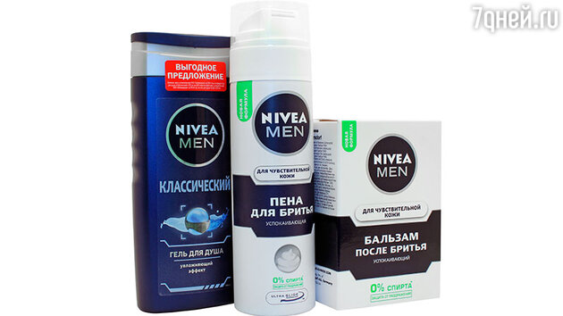 Мужская линия от Nivea Men