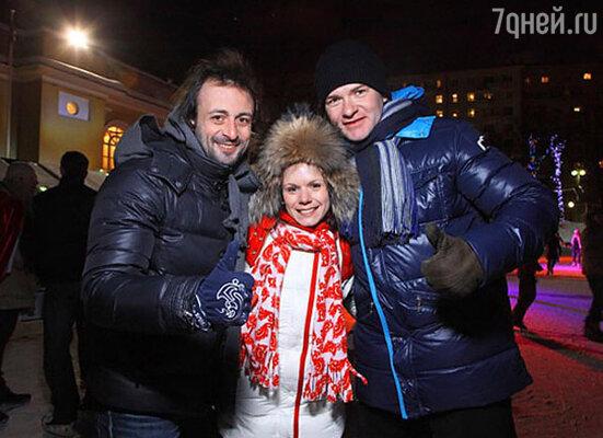 Илья Авербух, Мария Петрова, Алексей Тихонов