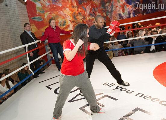 Рой Джонс провел первую тренировку в новом ультрасовременном фитнес-центре «I Love Fitness»