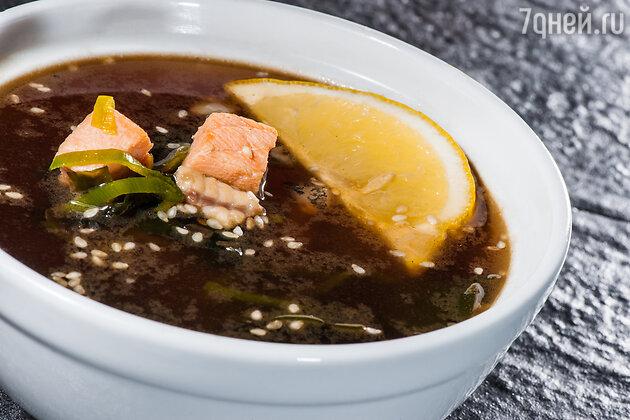 Суп с угрем по-гамбургски