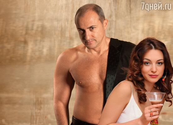 Михаил Турецкий с женой
