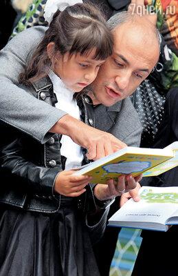 Михаил Турецкий с дочерью Эммой
