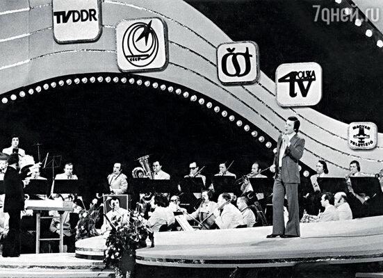 Фестиваль в Сопоте покорился Льву Лещенко в 1972 году