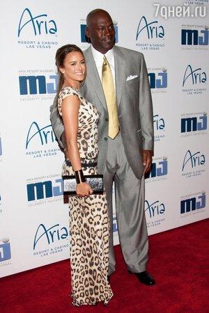 Майкл Джордан (Michael Jordan) с женой