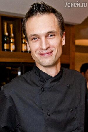Шеф-повар Андрей Иванов