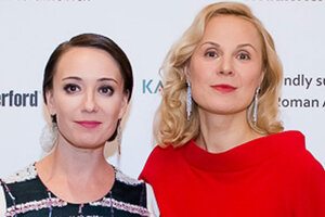 Чулпан Хаматова и Дина Корзун провели благотворительный вечер в Лондоне
