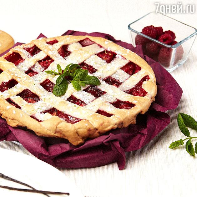 Малиновый пирог: рецепт ягодного десерта