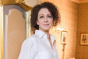 Ксения Раппопорт вышла в свет ради детей
