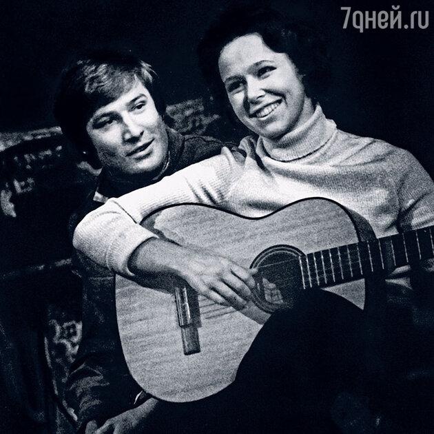Евгения Симонова и Сергей Насибов