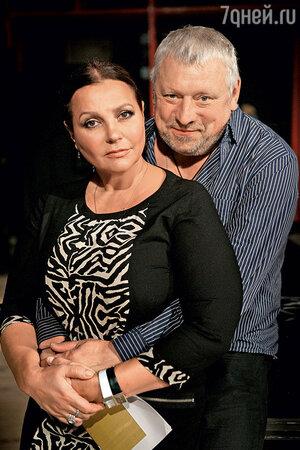 Елена Мольченко с мужем Игорем Воробьевым