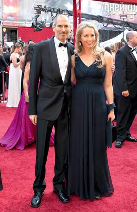 С женой Лорен на церемонии «Оскара». 2010 г.