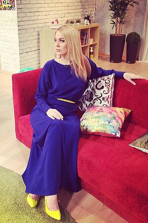 Татьяна Терешина в платье от российского бренда Aleksandra Vanushina