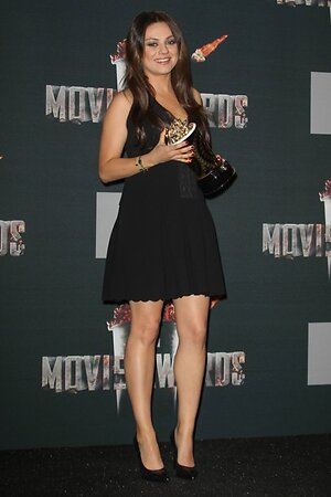 Мила Кунис на церемонии MTV Movie Awards 2014