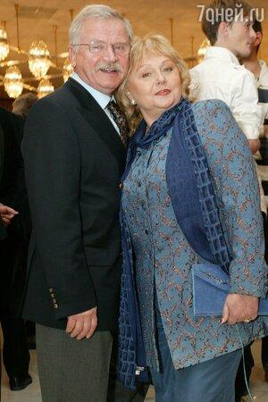 Сергей Никоненко с женой Екатериной