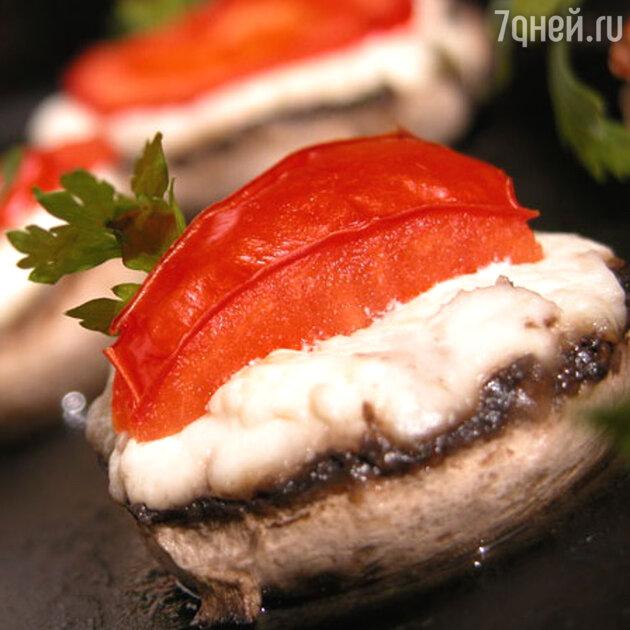 Фаршированные грибы: рецепт от шеф-повара Мишеля Ломбарди