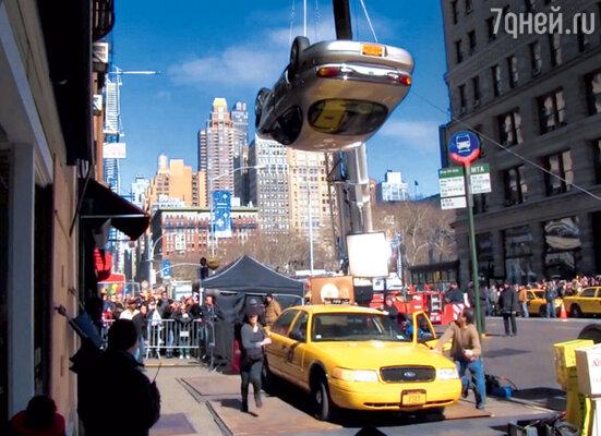 В фильме по минимуму используют компьютерную графику — почтивсе экшен-сцены снималисьвреальности