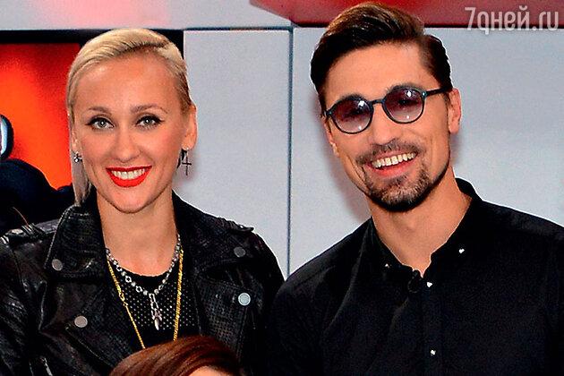 Ксана Сергиенко с наставником Димой Биланом
