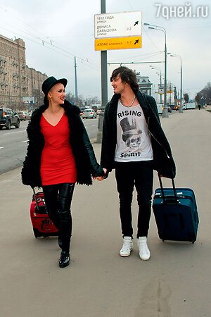 Ксана Сергиенко с другом