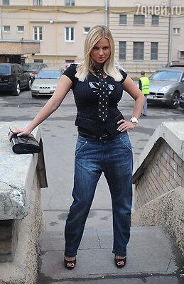 На вручении премии «Самые стильные вРоссии». 2009 г.
