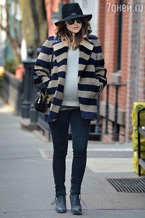 Оливия Уайлд на прогулке по Нью-Йорку