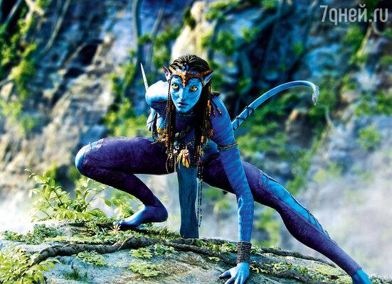 «Аватар», где Зои сыграла Нейтири, стал ее триумфом. Победой простой девочки, выросшей на крохотном острове в Карибском бассейне, 2009 г.
