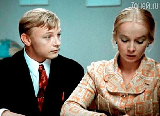 Михаил Кононов и Наталия Богунова в фильме  «Большая перемена» 1972 год