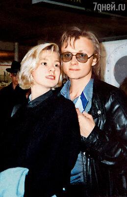 Владимир Шевельков с женой Ириной
