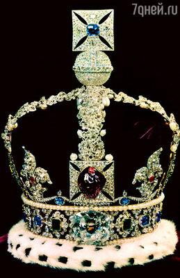 Огромный «Рубин Черного Принца» украсил корону Британской империи