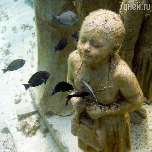 Подводный музей скульптур, Канкун, Мексика