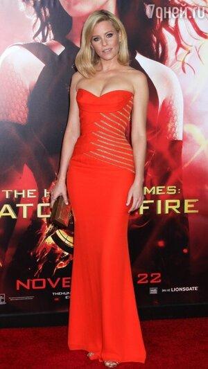 Элизабет Бэнкс в Versace