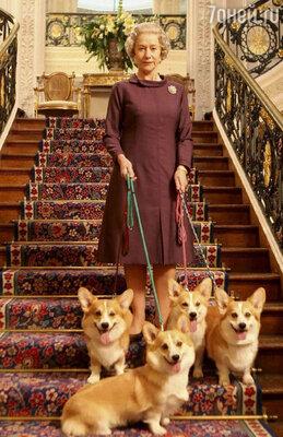 Хелен Миррен в роли Елизаветы II. «Королева»,   2006 год
