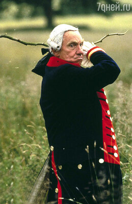 Найджел Хоторн в роли Георга III/ «Безумие короля Георга»? 1994 год