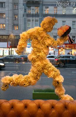 В центре Москвы открылся цветочный бутик Виктории Крутой