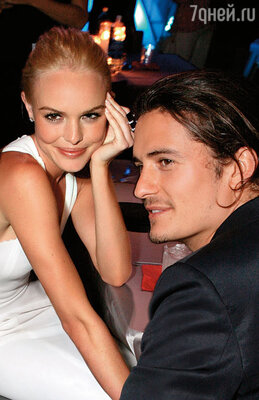 Орландо даже не старался скрыть от Миранды, что целый день провел со своей бывшей подружкой Кейт Босуорт