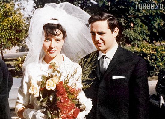 С первым мужем Володей Конзиным
