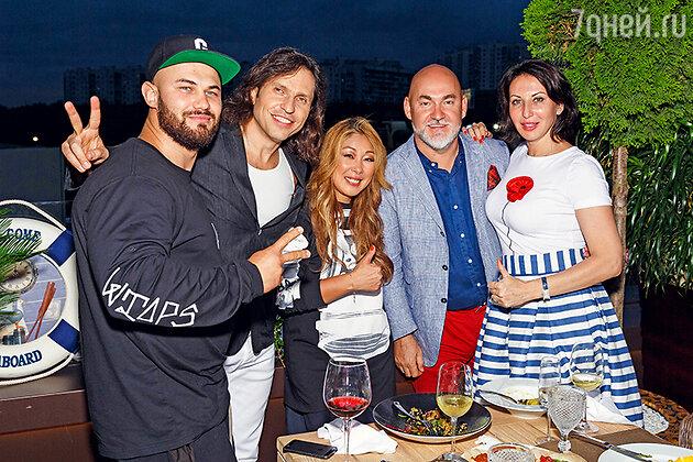 Джиган, Александр Ревва, Анита Цой, Алика Смехова
