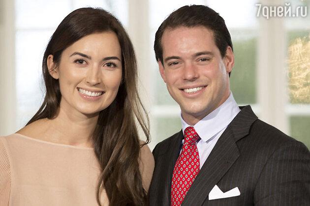 Принц Феликс Люксембургский и его супруга, принцесса Клэр