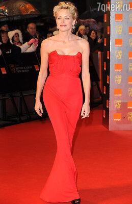 На вручении премии Британской киноакадемии. Лондон, 2009 г.